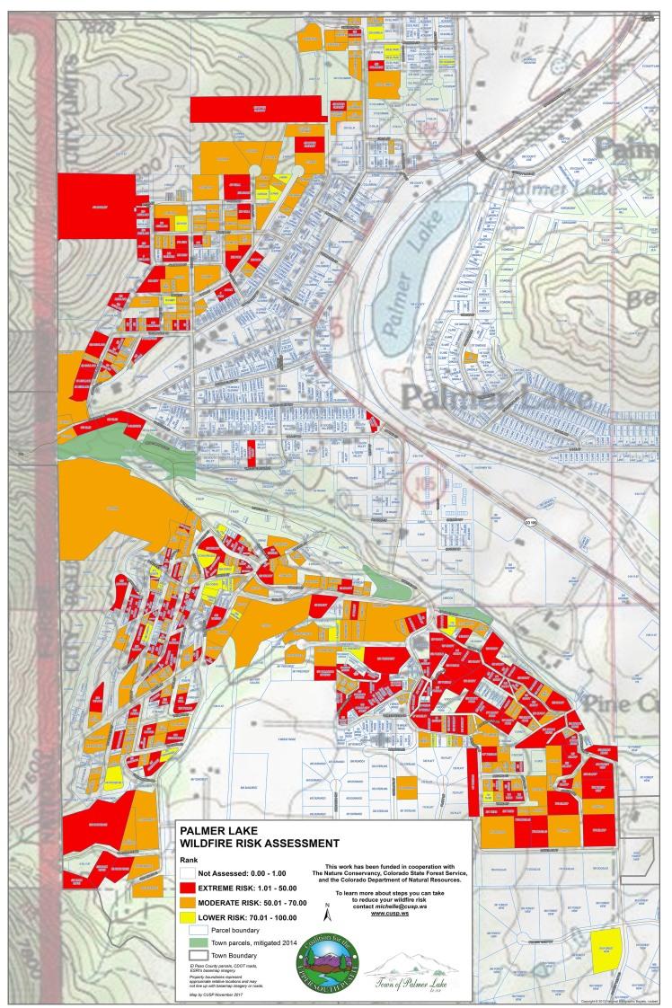 Palmer Lake Risk Assessment